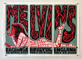 The Melvins Tour Poster - Exchange - Bristol - 2013 - Signed 224/250