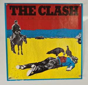 The Clash - Give Em Enough Rope - 1978 - Original Promo Poster