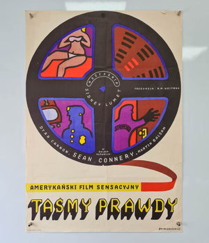 The Anderson Tapes - 1974 - Original Polish Poster
