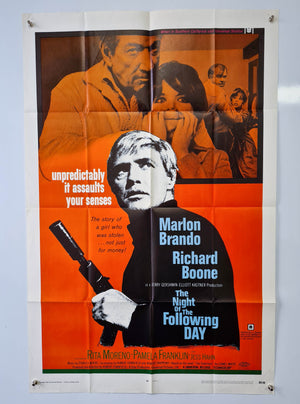 The Night of the Following Day - 1969 - Original Poster