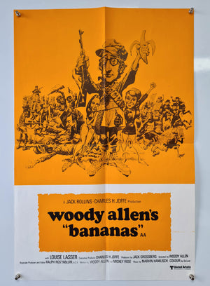 Bananas - 1971 - Original Double Crown Poster