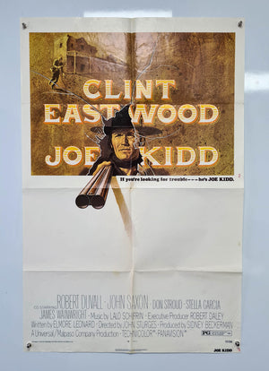 Joe Kidd - 1972 - Original US 1 Sheet