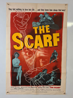 The Scarf - 1951 - Original US One Sheet