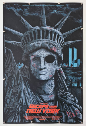 Escape From New York Screenprint