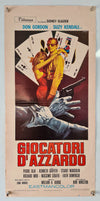 The Gamblers (Giocatori D'Azzardo) - 1970 - Original Italian Locandina