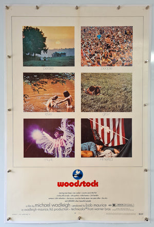 Woodstock Linen Backed - 1970 - Original Poster - US 1 Sheet