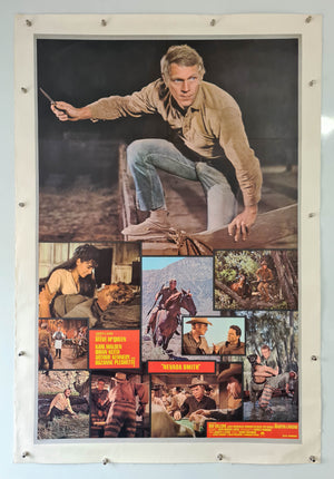 Nevada Smith Linen Backed - 1966 - Original Poster - US 1 Sheet