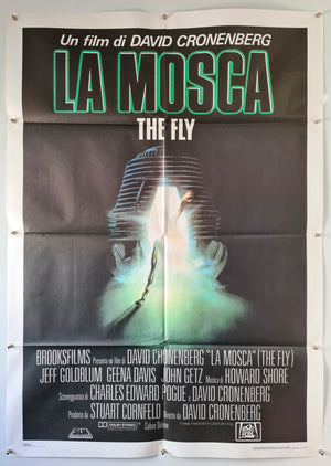 The Fly - 1986 - Original Italian 2 Fogli