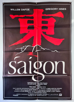 Off Limits (Saigon) - 1988 - Original Italian 2 Fogli