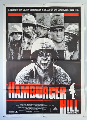 Hamburger Hill - 1987 - Original Italian 2 Fogli