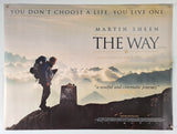 The Way - 2010 - Original UK Quad