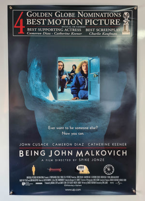 Being John Malkovich - 1999 - Original US One Sheet Poster