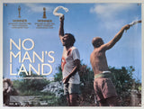 No Man's Land - 2001 - Original UK Quad