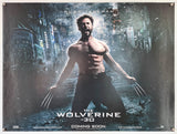 The Wolverine - 2013 - Original UK Quad