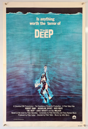 The Deep - 1977 - Original US One Sheet
