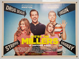 We're The Millers - 2013 - Original UK Quad
