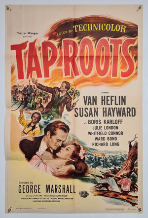 Tap Roots - 1948 - Original US One Sheet