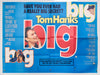 Big - 1988 - Original UK Quad