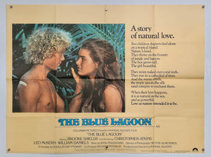 The Blue Lagoon - 1980 - Original UK Quad