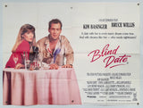 Blind Date - 1987 - Original UK Quad