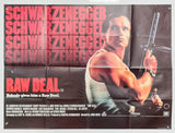 Raw Deal - 1986 - Original UK Quad