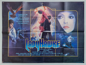 Ladyhawke - 1985 - Original UK Quad