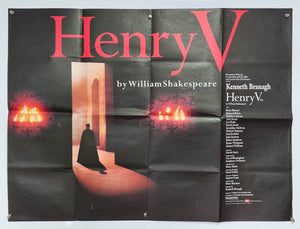 Henry V - 1989 - Original UK Quad
