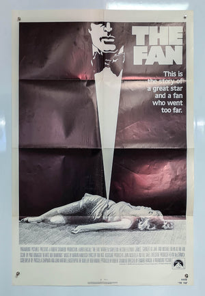 The Fan - 1981 - Original US One Sheet