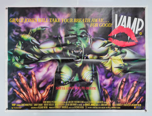 Vamp - 1986 - Original UK Quad