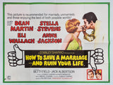 How to Save a Marriage... And Ruin Your Life - 1968 - Original UK Quad