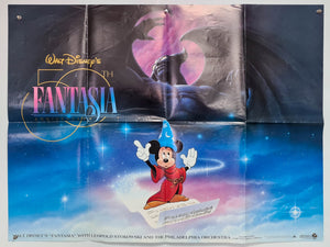Fantasia - 50th Anniversary - Original UK Quad