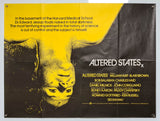 Altered States - 1980 - Original UK Quad