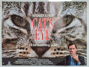 Stephen King's Cat's Eye - 1985 - Original UK Quad