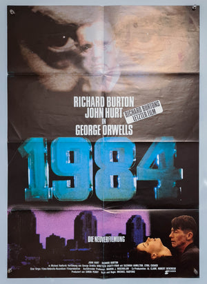 1984 - Original German A1 Poster