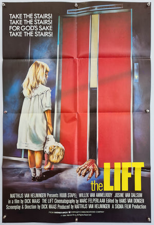 The Lift - 1983 - Original English One Sheet