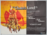 Chato's Land - 1972 - Original UK Quad