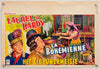 The Bohemian Girl - La Bohémienne - Laurel and Hardy - 1950s Re-release - Original Belgian Poster