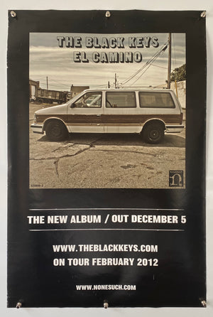 The Black Keys El Camino - 2012 - Original Promo Poster