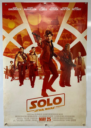 Solo - 2018 - Original UK One Sheet Poster