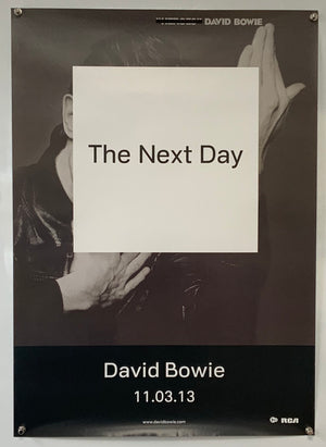 David Bowie - The Next Day - 2013 - Original Promo Poster
