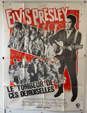 Le Tombeur De Ces Demoiselles Film/ Spinout - 1966 - Original French Grande Poster