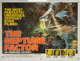 The Neptune Factor - 1973 - Original UK Quad Poster
