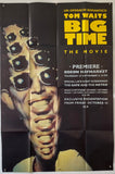 Big Time - Original - 1988 UK Billboard Poster