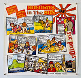 Holidays In The Sun - Sex Pistols - 1977 - Original Promo Poster