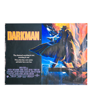 Darkman - 1990 - Original UK Quad