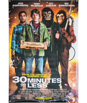 30 Minutes or Less - 2011 - Original Poster