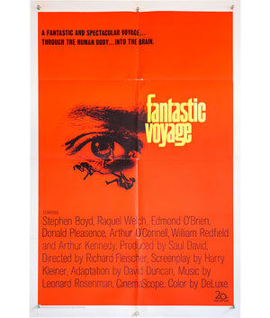Fantastic Voyage - 1966 - Original US 1 Sheet