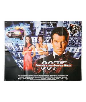 007 Tomorrow Never Dies - 1997 - Original Poster