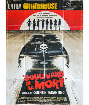Boulevard de la Mort - Death Proof - 2007 - Original French Grande Poster