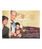 Mrs Doubtfire - 1993 - Original UK Quad